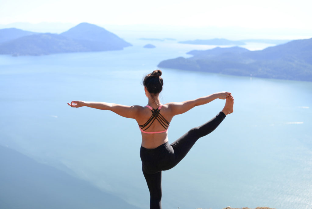 Yoga in the Morning improves your flexibility and posture.