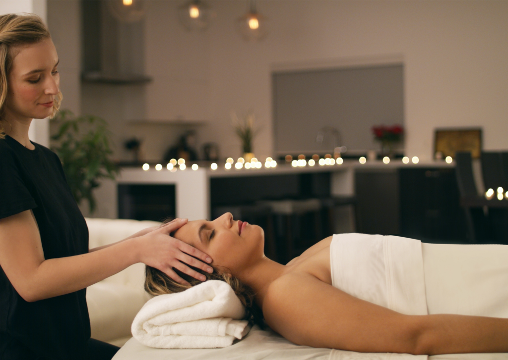 At-home massage strengthens the mind-body connection