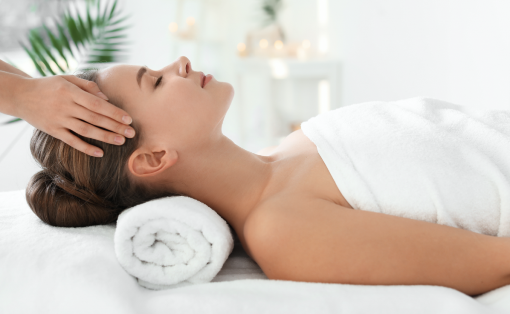 Offering CBD massage with Soothe
