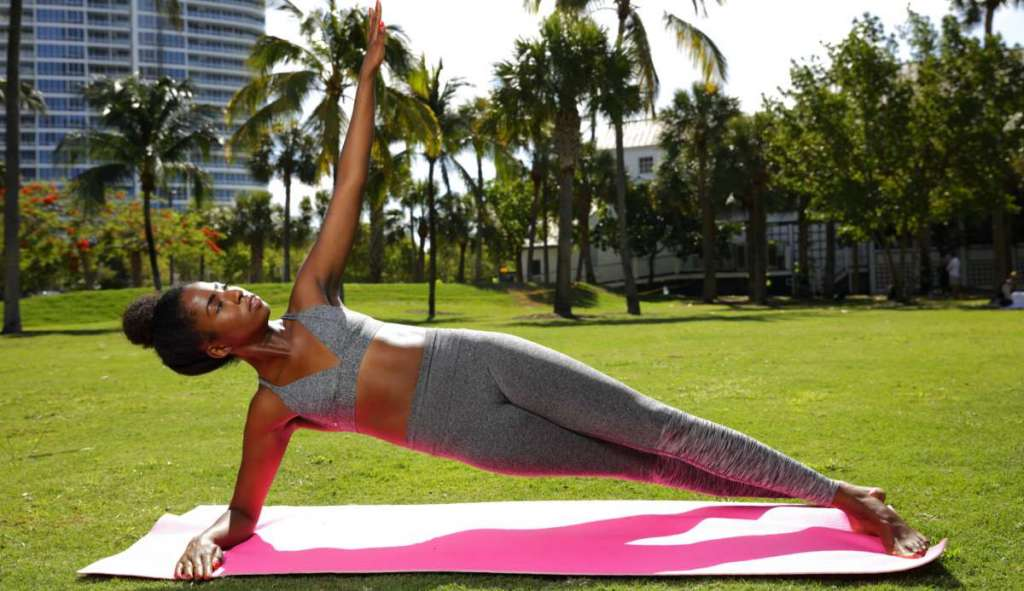 Benefits of outdoor yoga